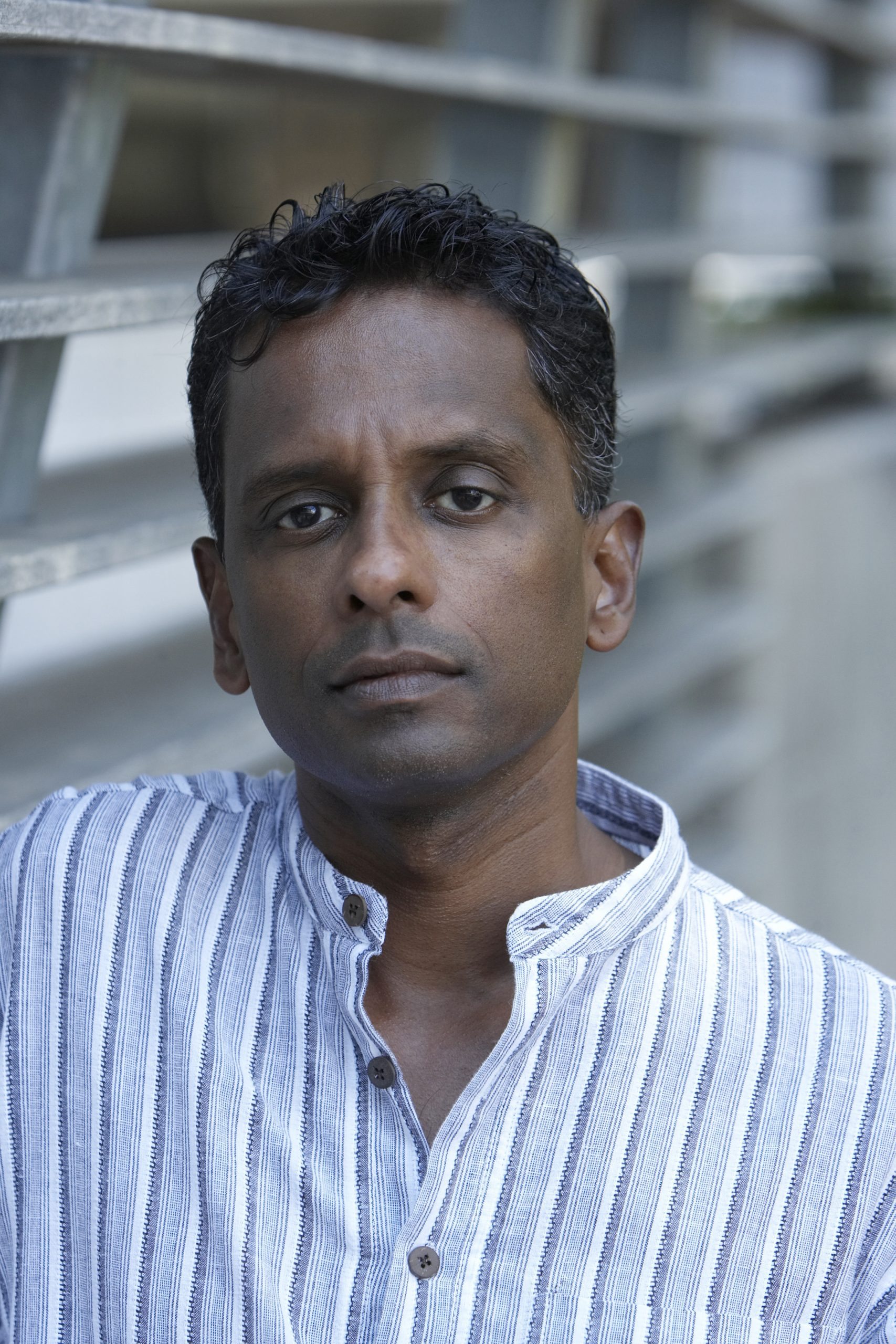 Portrait of author Shyam Selvadurai